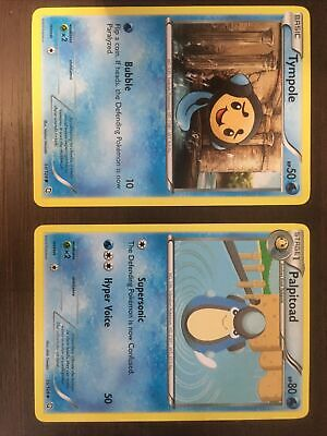 Tympole and Palpitoad Dragons Exalted Pokemon 2012