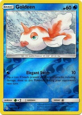 x4 Goldeen - 48/214 - Common - Reverse Holo Pokemon SM10 Unbroken Bonds M/NM Eng