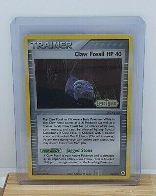 Claw Fossil HP 40 Stamped Holo Pokemon TCG Card EX Legend Maker 78/92 NEAR MINT