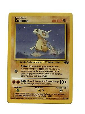 Pokemon 59/64 Cubone Jungle Series