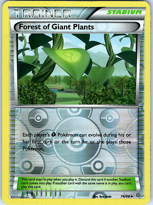 Ancient Origins Forest of Giant Plants 74/98 Reverse Holo Trainer Pokemon Card
