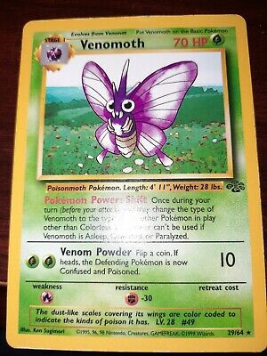 Pokemon TCG Jungle : Venomoth 29/64 Rare