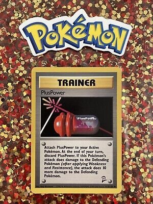 ⭐️ Pokemon 2000 PlusPower Base Set 2 Nintendo Game Freak Wizards Card 🎏