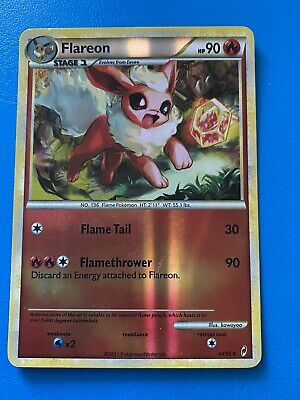 Pokemon Card Flareon Call of Legends 44/95 NEAR MINT Reverse Holo Uncommon card