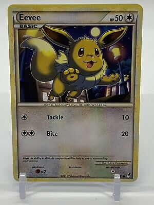 Pokemon Eevee 56/95 2011 Call of Legends Near Mint to MINT