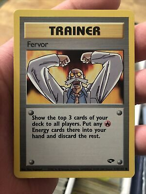 FERVOR - Gym Challenge - 124/132 - Common - Trainer - Pokemon Card - Near Mint