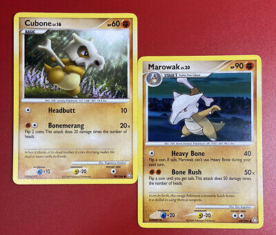 Pokemon Cubone 90/146 & Marowak 63/146 - Legends Awakened Non-Holo