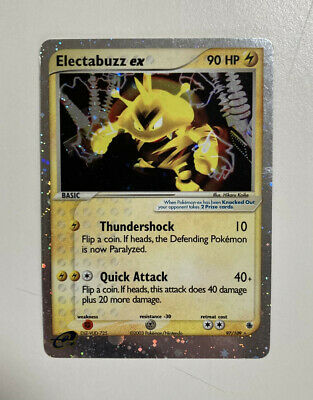 Electabuzz 97/109 EX Holo Ruby and Sapphire Pokemon