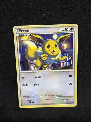 Pokemon Eevee HGSS Call of Legends 56/95 Common Card NM-
