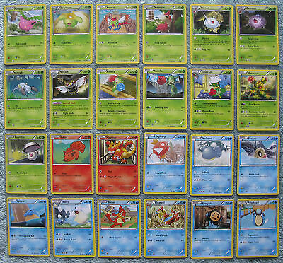 Pokemon TCG B&W Dragons Exalted Common & Uncommon Card Selection [Part 1/3]