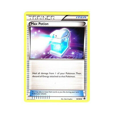 1x Pokemon  Emerging Powers Max Potion 94 Uncommon Card