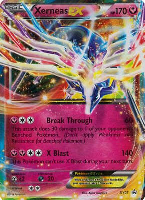 Pokemon - Xerneas-EX - XY07 - XY Promos - Promo - Played