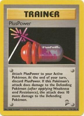 PlusPower - 113/130  - Uncommon NM Base Set 2 Pokemon 2B3