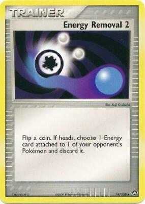 Energy Removal 2 - 74/108 - Uncommon PL Power Keepers Pokemon 2B3