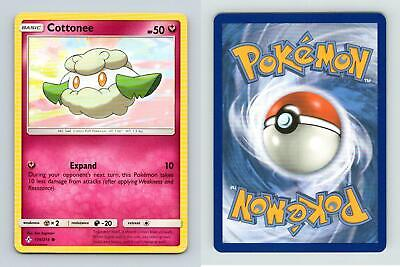 Cottonee #139/214 Sun & Moon Unbroken Bonds Common Pokemon 2019 TCG Card