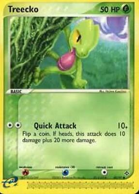 Treecko  - 80/97 - Common NM Ex Dragon Pokemon 2B3
