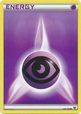 Psychic Energy - 136/146 - Common NM XY (Base Set) Pokemon 2B3