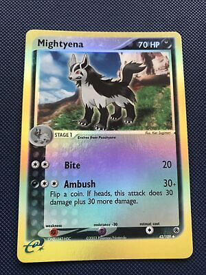 Mightyena 42/109 Reverse Holo - Pokemon Card - Ex Ruby & Sapphire NM+