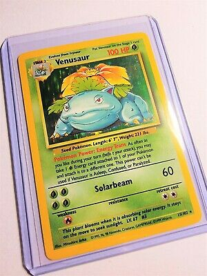 Venusaur Holo 1999 Pokemon TCG Base Set #15/102 (1)