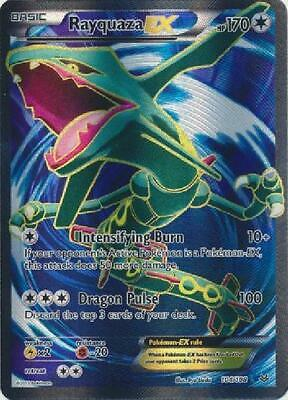 Rayquaza EX - 104/108 - Full Art Ultra Rare PL Pokemon XY Roaring Skies