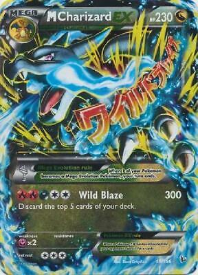 M Charizard-EX - 69/106 - Ultra Rare NM Pokemon XY Flashfire