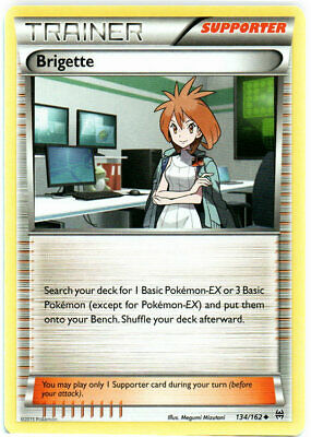 Pokemon - Brigette - 134/162 - XY BREAKthrough - Uncommon - Near Mint