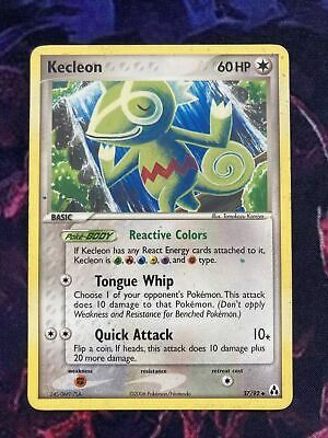 Kecleon 37/92 Legend Maker pokemon card NM