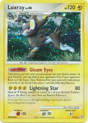 Luxray - 7/130 - Holo Rare NM Diamond & Pearl Pokemon