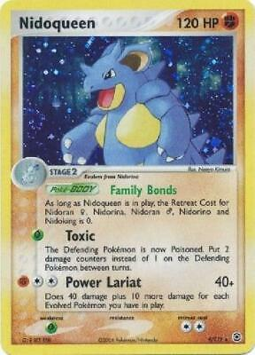 Nidoqueen - 9/112 - Holo Rare PL FireRed & LeafGreen Pokemon 5CP