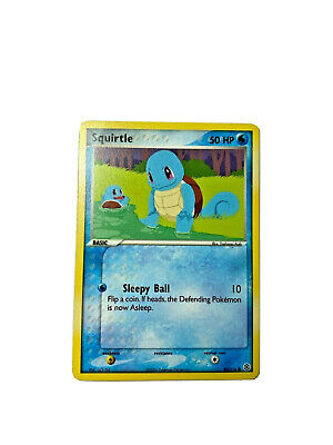 Pokemon Squirtle - 82/112 - EX Firered & Leafgreen NM