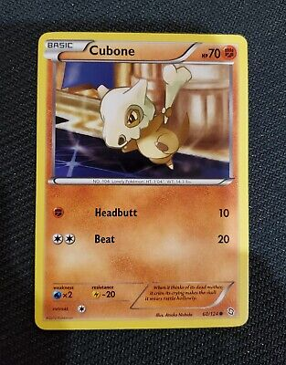 Pokemon TCG Dragons Exalted Cubone 60/124 - Excellent