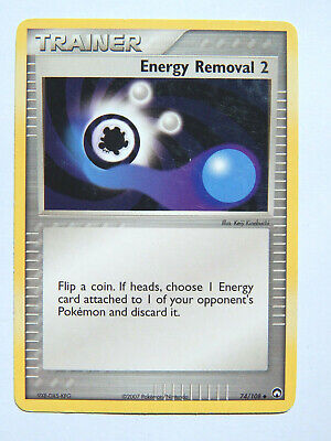 Energy Removal 2 74/108 (LP, Pokemon Card, EX Power Keepers, Trainer, Uncommon)