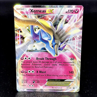 Xerneas EX - XY149 - Black Star Promo - Half-Art Rare Holo Pokemon Card
