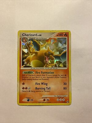 Pokemon- Charizard Shattered Holo Rare- Arceus 1/99 - NM/LP