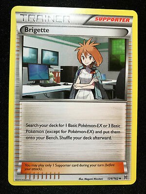 Brigette - 134/162 - Uncommon XY: Breakthrough NM+ Pokemon Cards