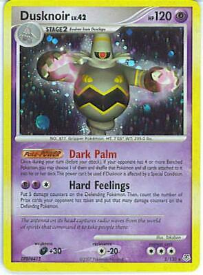 Dusknoir 002 NM Diamond and Pearl Pokemon Card Tracked Shipping