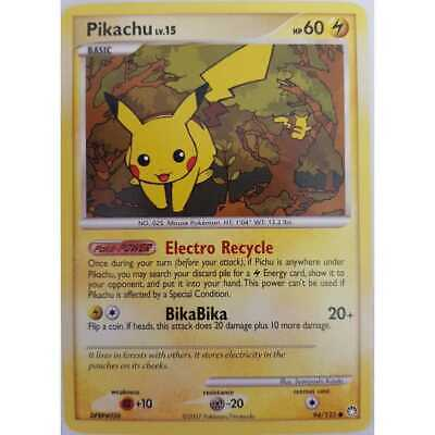 Pokemon Pikachu 94/123 - Mysterious Treasures -  Englisch NM