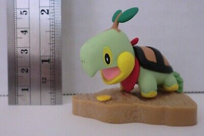 Pokemon Diamond & Pearl Mystery Dungeon Turtwig Figure Collection Tomy New