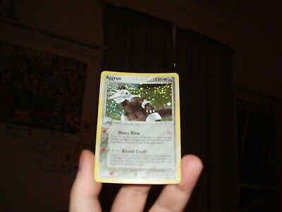 Aggron Holo Pokemon Card Legend Maker 2/92 (Decent Condition)