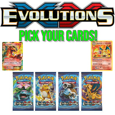 Pokemon Cards XY Evolutions (Select Your Cards) PSA9 & PSA 10 Worthy Pack Fresh
