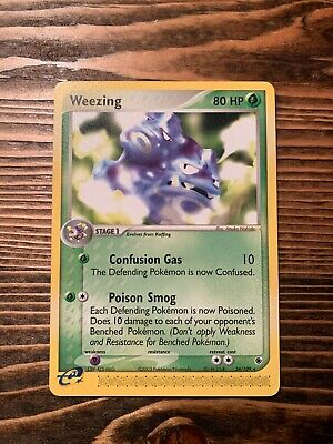 Weezing 24/109 Non-Holo Rare EX Ruby & Sapphire Pokemon Card