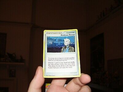 Professor Rowan Holo Pokemon Card Diamond & Pearl 112/130 (Great Condition)