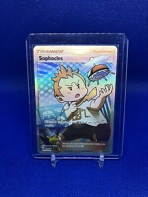 Sophocles 146/147 Ultra Rare Pokemon Burning Shadows Trainer Full Art NM