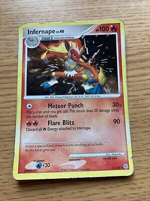 Pokemon Infernape 5/130 Diamond & Pearl Holo Mint/NM