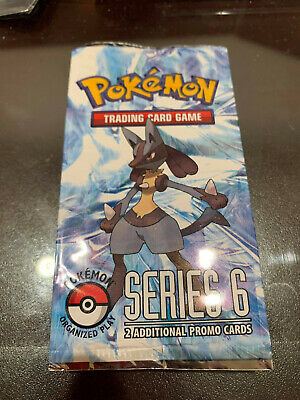 Factory Sealed EX POP Series 6 Pokemon Booster Card Promo Pack Lucario
