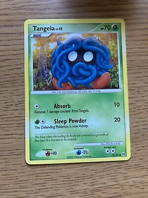 Pokemon Platinum Arceus Set COMMON Tangela 76/99 - Near Mint (NM) Condition
