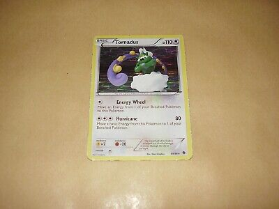 Tornadus Holo Pokemon Card Emerging Powers 89/98 (Used Condition)