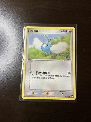 Pokemon Swablu 66/108 Ex Power Keepers GOOD CONDITION