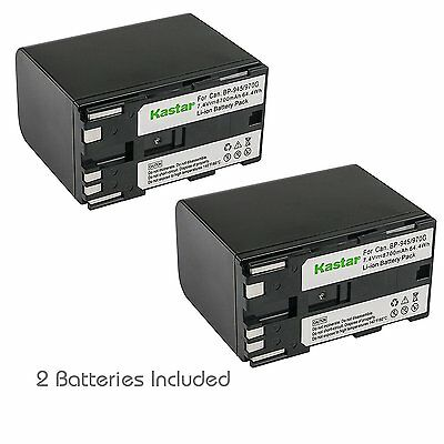 Батареи BP-970G Battery& LCD Fast Charger