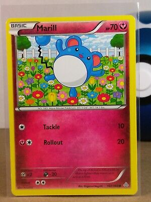 Marill  102/160 X&Y: Primal Clash Common NM/Mint Pokemon